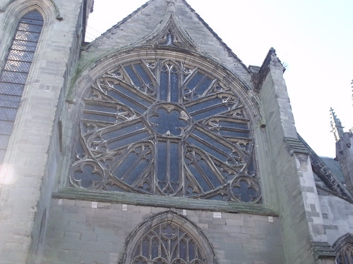 Church of All Saints - Leamington Spa - Rose window | by ell brown