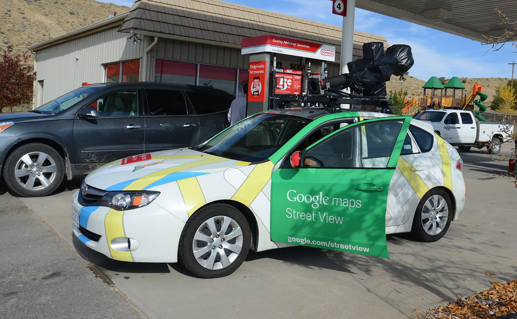 google maps car in dinosaur co today we ran into one. Black Bedroom Furniture Sets. Home Design Ideas