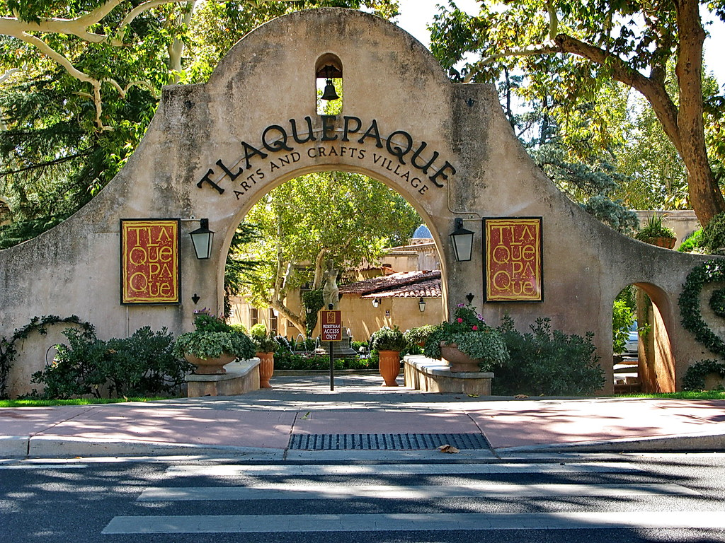 Tlaquepaque Arts Crafts Village  Az  Sedona Az