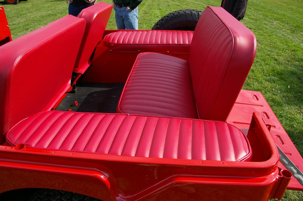 1965 Jeep CJ-5A Tuxedo Park Mark IV - Rear Fender Cushions ...