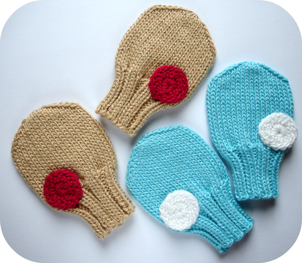 Knit Mitten Ornament Pattern : Pat-a-cake Baby Mittens Knitting Pattern An original knitt? Flickr