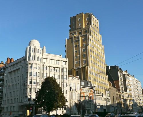 Bruxelles belgique boulevard gl jacques palais de la fo for Architecte bruxelles