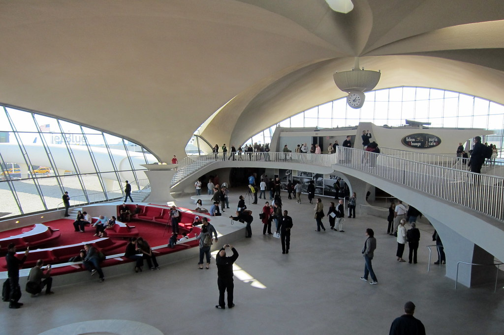 Nyc jfk airport twa flight center the twa flight for Hotel at jfk terminal