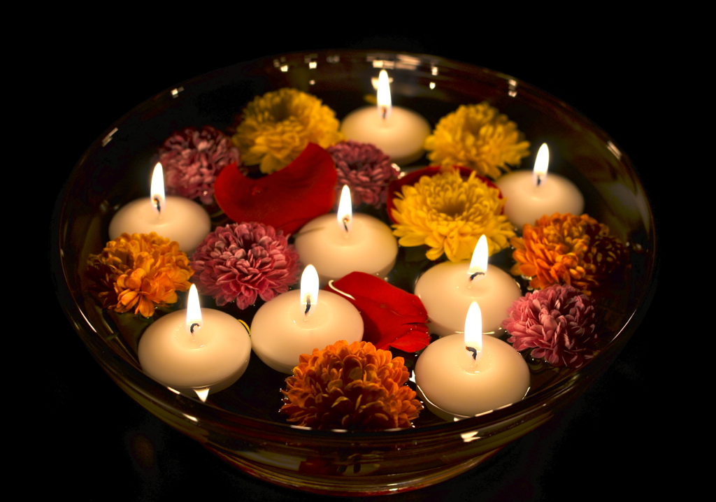 Diwali decoration ragavika pavan chitumalla flickr - The world of candles candles decoration ...
