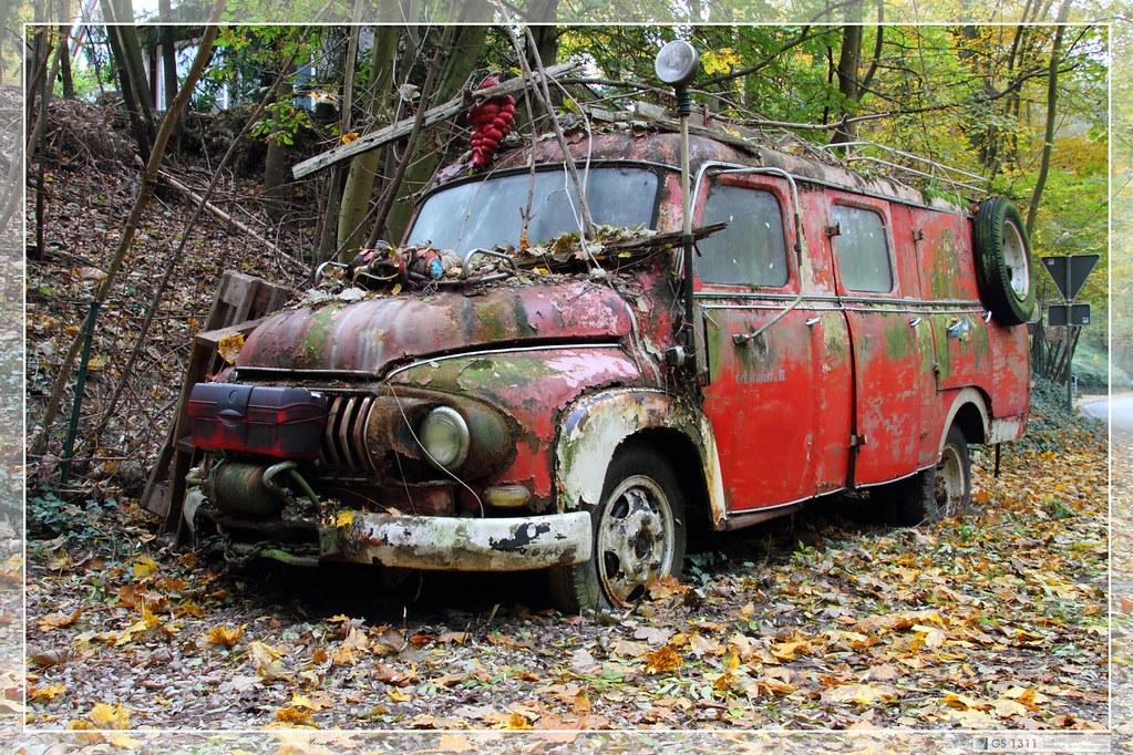 1955 1961 ford fk 4500 01 i saw this wreck in mettmann flickr. Black Bedroom Furniture Sets. Home Design Ideas
