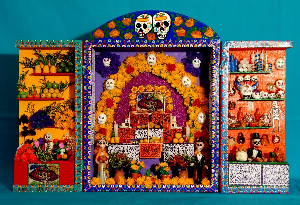ofrenda for the souls feliz dia de muertos 2011 flickr