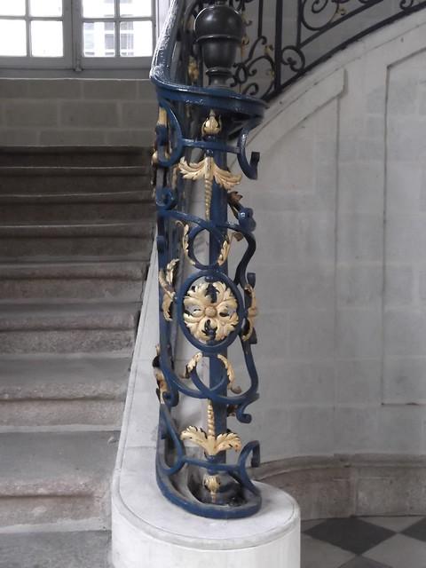Fer Forg Et Dorure De L Escalier De L H Tel De Blossac Flickr Photo Sharing