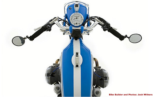 Top View BMW Cafe Motorcycle | by jjwithers