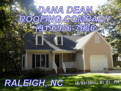 Raleigh Nc Residential Roofing Contractor Dana Dean Roofin