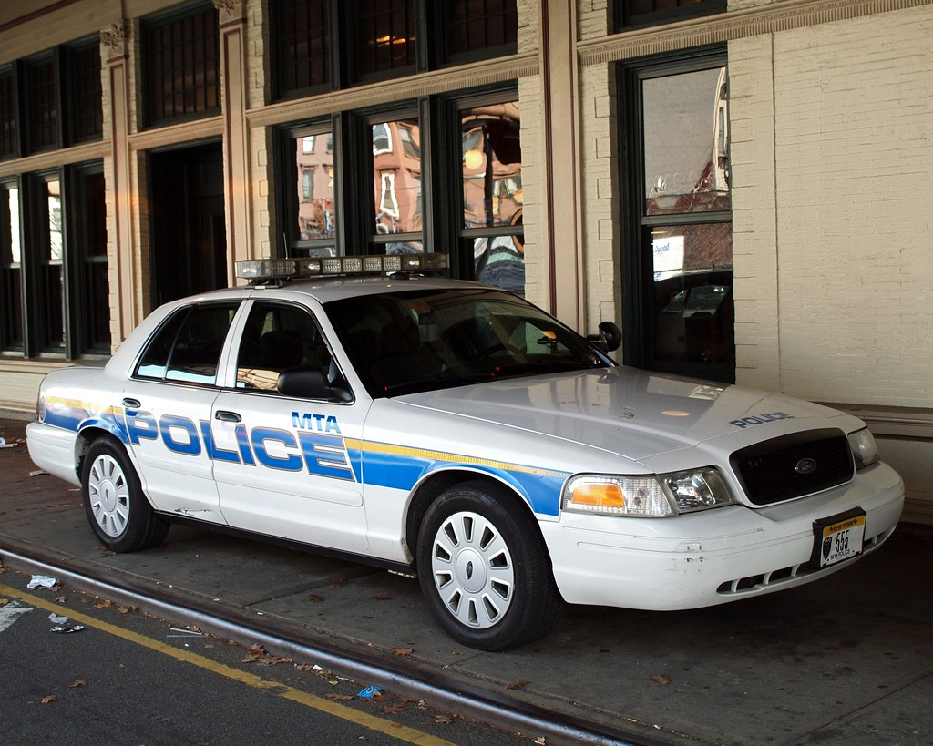 mta police car metro north 125 street station east harle flickr