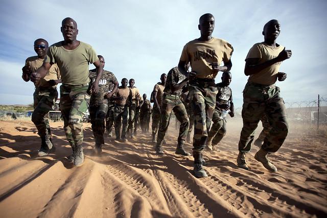 Senegalese Peacekeepers Train in North Darfur.