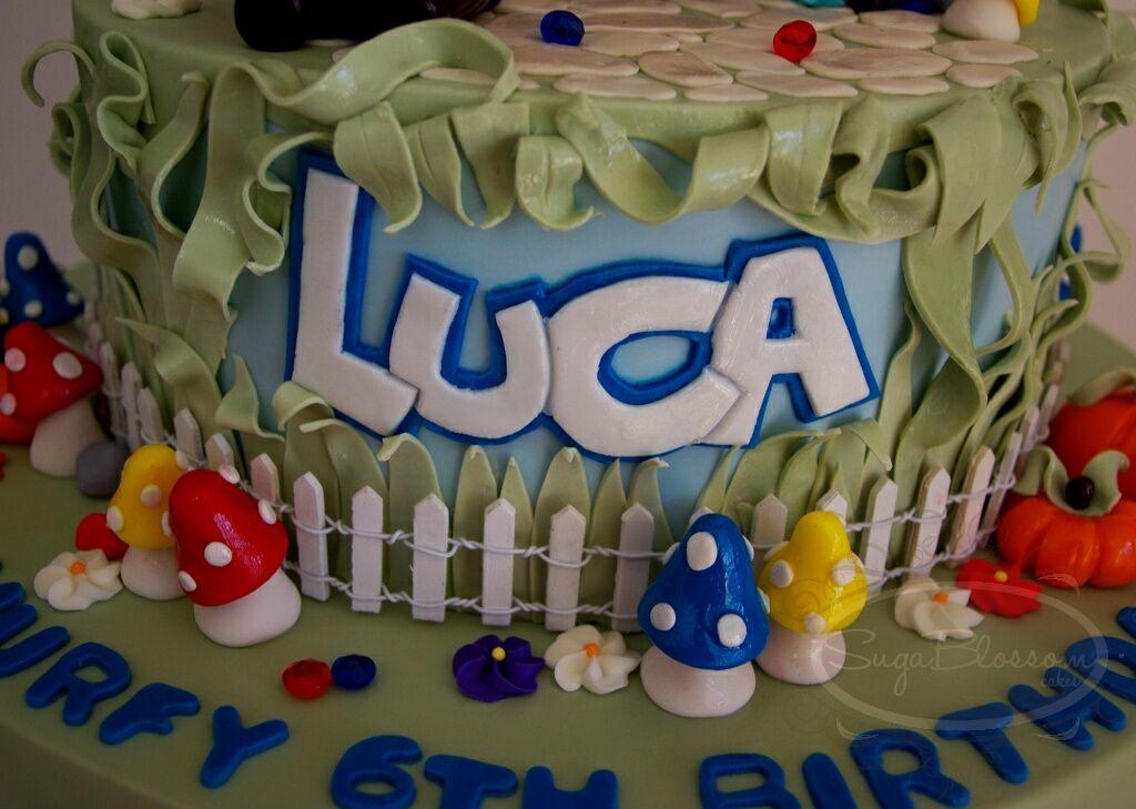 Smurf Birthday Cake Images