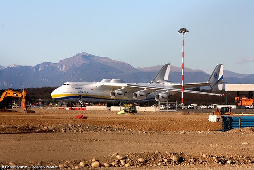 An-225 Mriya - Parked | by Elmeon