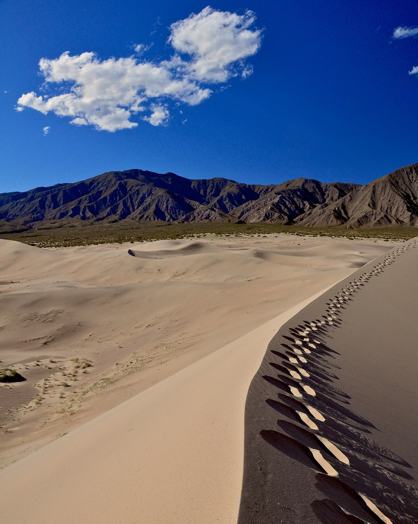 Panamint Dunes Death Valley Ca By Steved