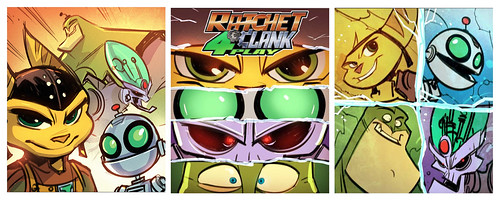 Ratchet & Clank All 4 One pre-release box art: Static Heroes | by PlayStation.Blog