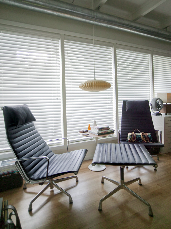 ... Eames Aluminum Group Lounge Chairs And Ottoman | By Analogdialog