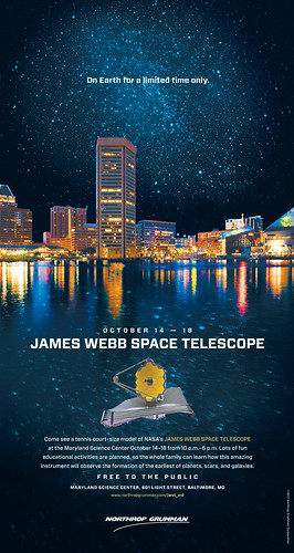 JWST at the Maryland Science Center | by NASA Goddard Photo and Video