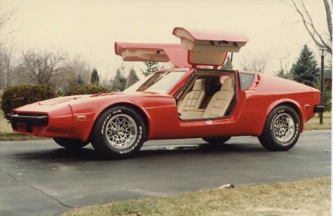 American Fiber Craft Aquila Kit Car Gullwing Kevin