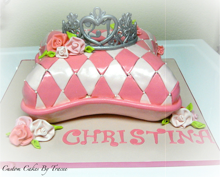 Happy Birthday Cake Christina