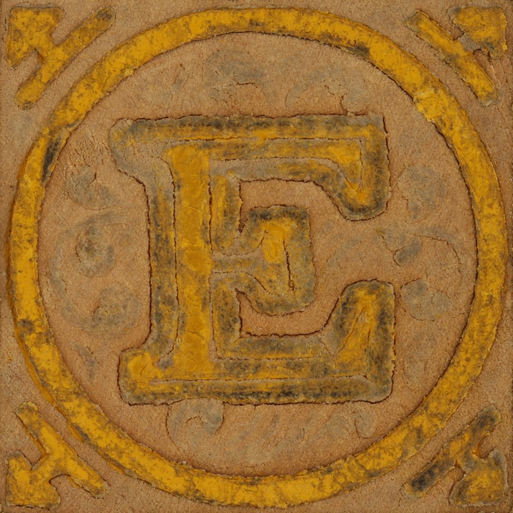 Vintage Wooden Block Letter E  Leo Reynolds  Flickr