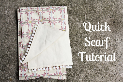 Quick Scarf Tutorial | by Jeni Baker | In Color Order