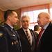 Cosmonauts Anton Shkaplerov and Alexei Leonov