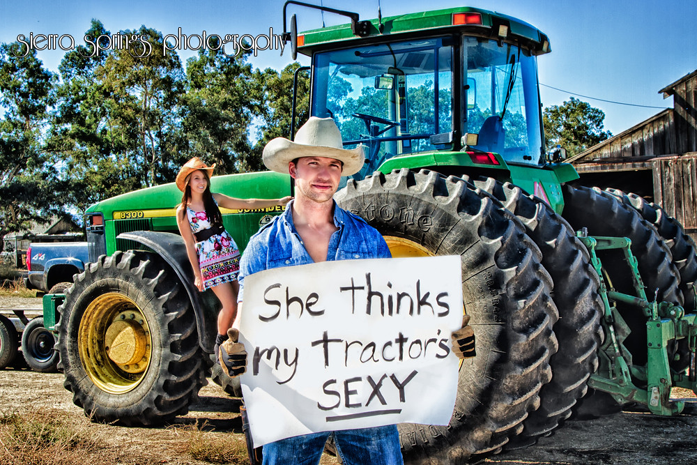 She thinks my tractor is sexy photo 63