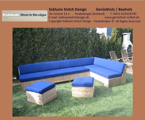 bauholz lounge bank2. Black Bedroom Furniture Sets. Home Design Ideas