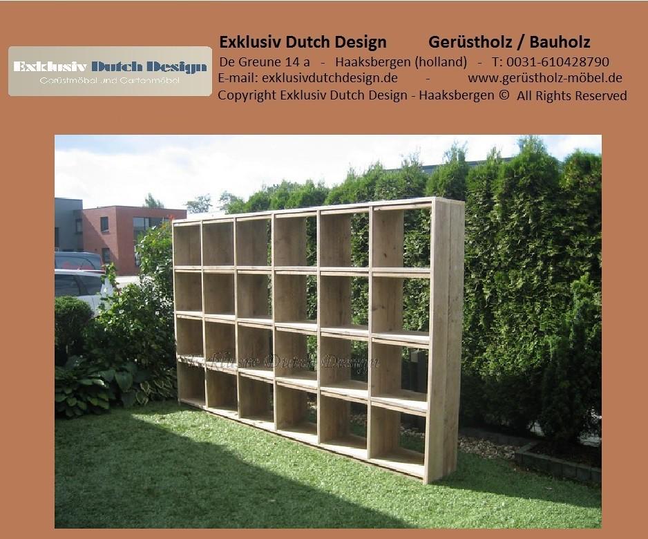 bauholz lounge schrank regal sidetable1. Black Bedroom Furniture Sets. Home Design Ideas
