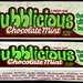 Bubblicious - Chocolate Mint- bubble gum pack - late 1980's early 1990's