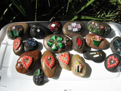 """Happy Rocks"" for the festival 