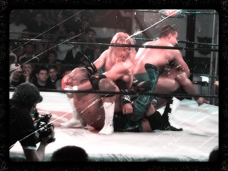 CIMA & GAMMA vs. Mark Haskins & Marty Scurll | by firstnameunknown