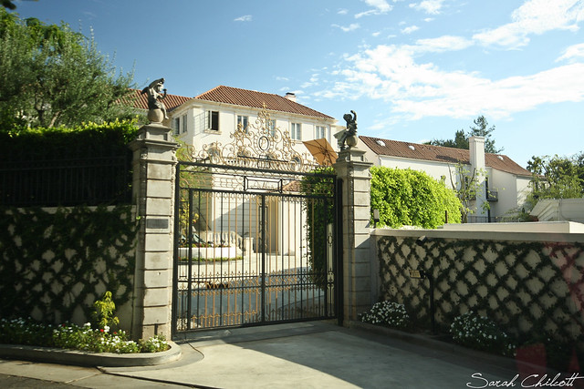 Stars 39 homes in beverly hills don 39 t ask me who they for Beverly hills celebrity homes map