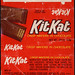 Hershey - Kit Kat - KitKat - two-stick - candy bar wrapper - early 1970's