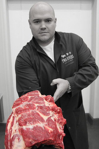 Two Rivers Specialty Meats | Jason Plym with Chuck Roll | by scout.magazine