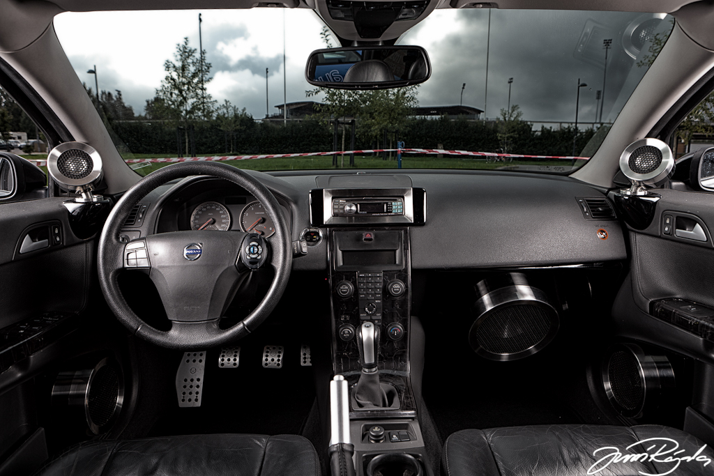 Volvo V40 Inside Inside Of Volvo V40 Stereo System