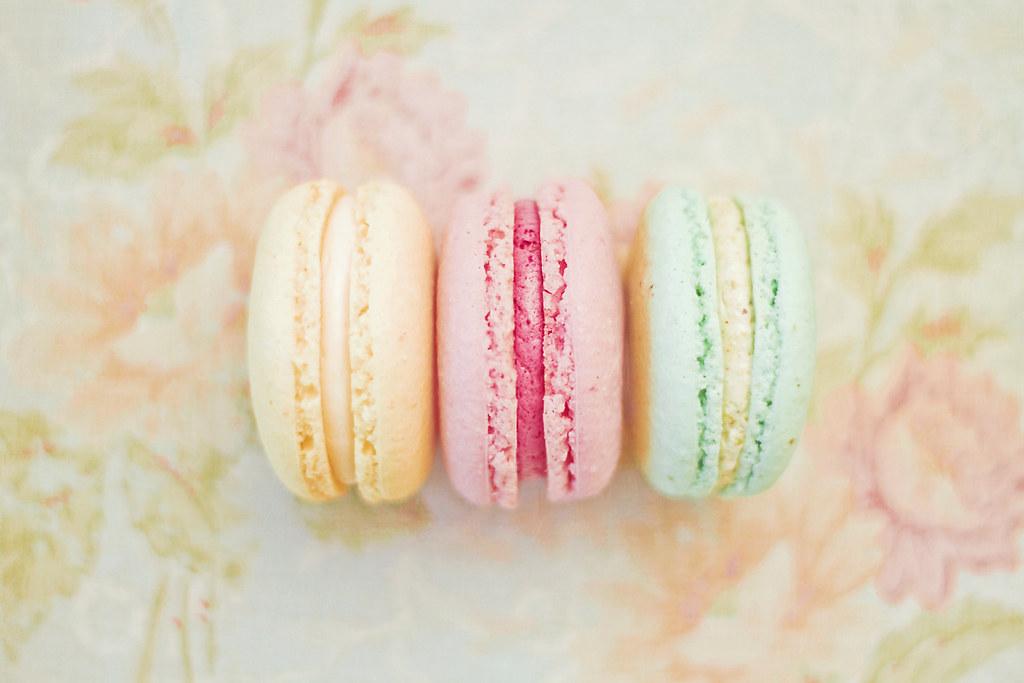 Happy macarons guaranteed happy smiles shop facebook - Pastel macaroons wallpaper ...