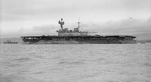 HMS EAGLE ( 1918 ) -  moored at Greenock. | by DesertBlooms