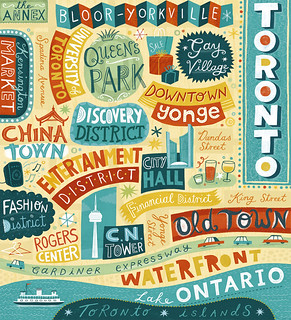 Toronto Map | by Linzie Hunter