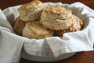 Brown sugar oat scones | by Completely Delicious