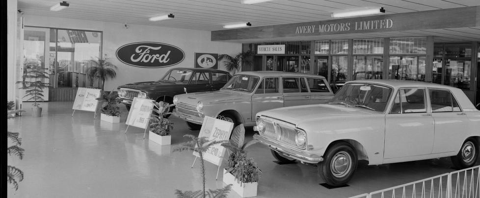 1965 Ford Dealer Showroom Nz Ford Dealer Showroom 1965 Nz Flickr