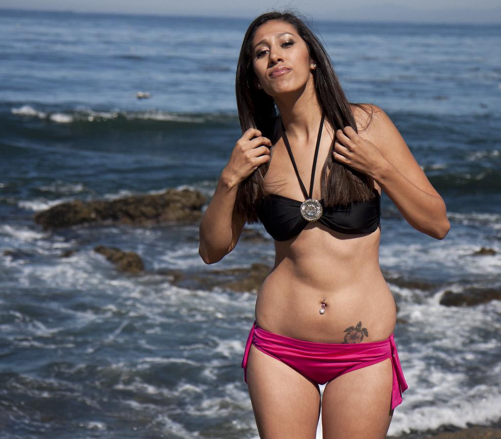 Raquel in a bikini at ...