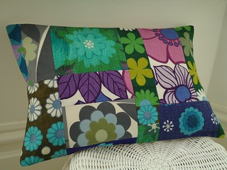 mod flowers cushion cover | by modflowers
