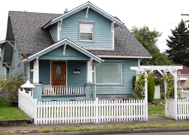 Cute Little House Puyallup Washington By Suswann