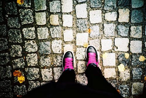Autumn Feet My Purple Laces Back In September In Berlin