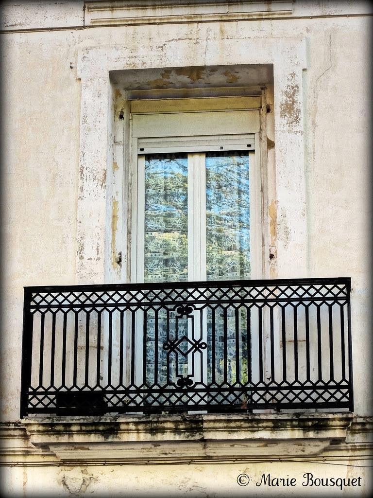 Le Vieux Balcon En Fer Forg 233 Marie Bousquet Flickr