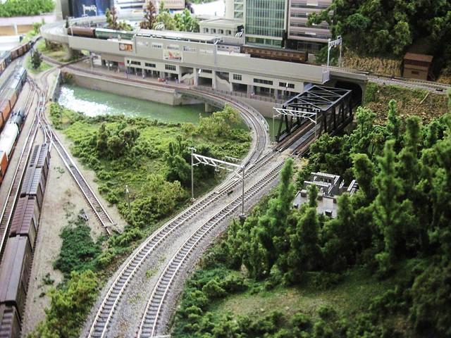N scale trains