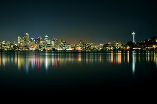 Seattle on a Clear Night | by Marc Vosburgh