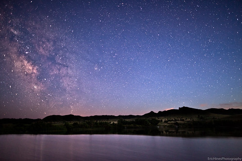 Milky Way Over Carter Lake, Fort Robinson | by Eric Hines Photography