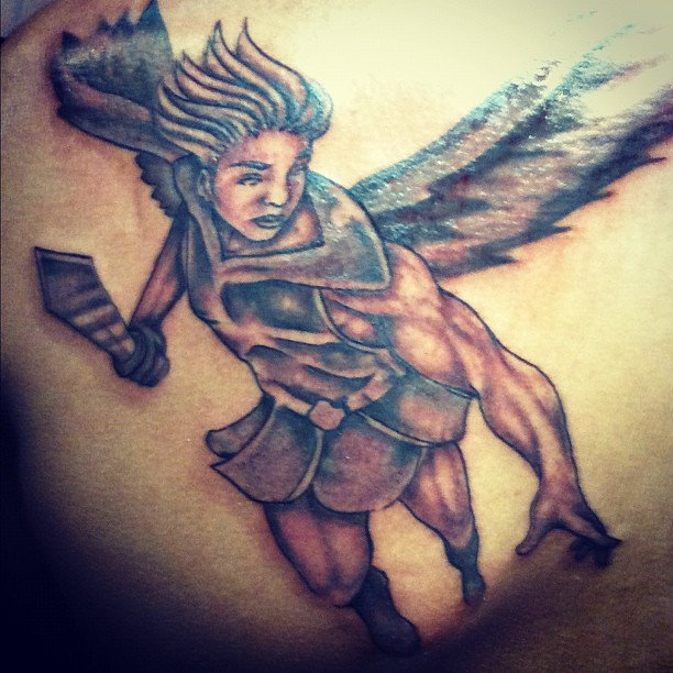 Arch angel# tattoo# baton rouge,la # new Orleans# tattoo a… | Flickr